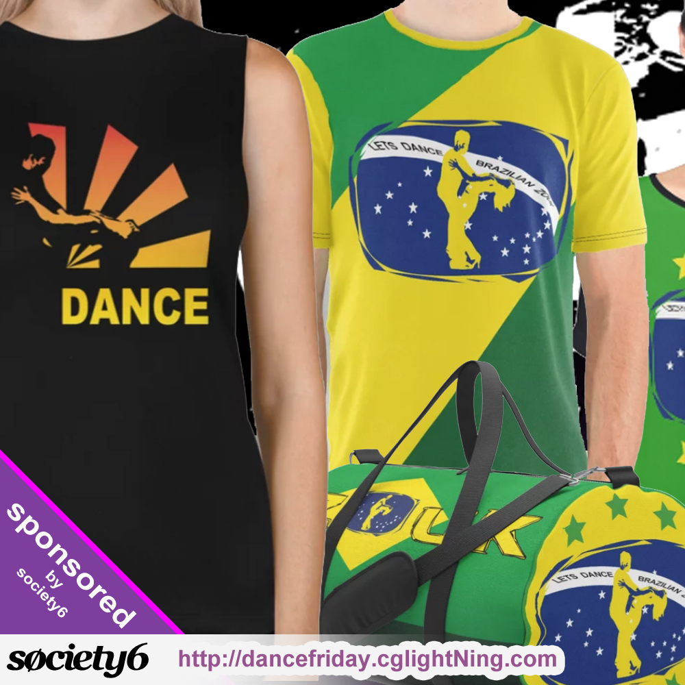 society6 - dance designs by cglightNingART