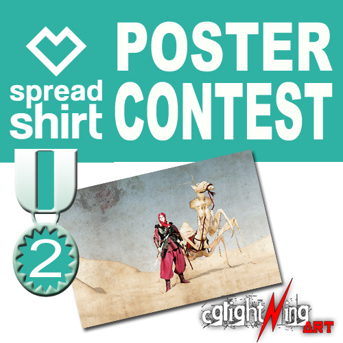 spreadshirt poster contest 2018 - 2.Platz